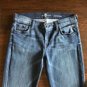 7 For All Mankind Roxanne Skinny Straight